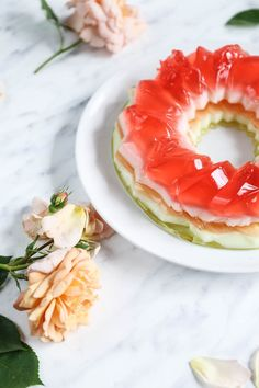 Galaretkowy tort - przepis Marty Rainbow Jelly, Jelly Cake, My Recipes, Watermelon, Fish, Fruit, Jello Cake, Pisces