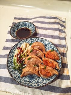 I made Beef Potstickers