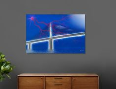 Discover «Skyway Fantasy», Limited Edition Acrylic Glass Print by Glink - From $99 - Curioos