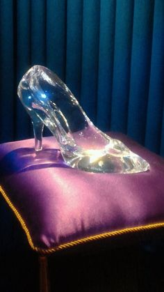 Cinderella,glass shoe,purple