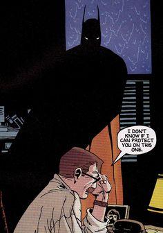 Batman & James Gordon by Tim Sale