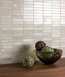Latte Marble Linear Mosaic