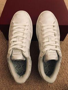 best service 18a3e 4199a PUMA Basket Classic Metallic Sneaker SZ US W 9.5 UK 7 EU 40.5  PUMA