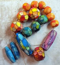 MargitB  WIP: Patchwork Beads | Flickr - Photo Sharing!