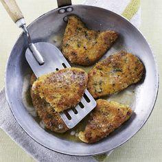 Crispy Parmesan Turkey Breasts - redbookmag.com