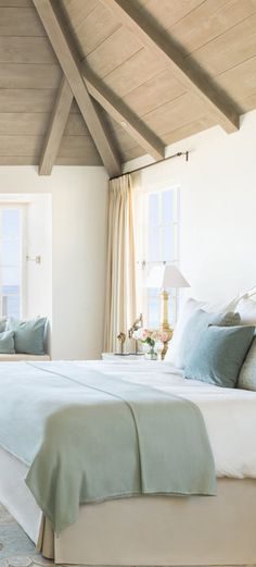 Coastal Bedroom #beachhouse