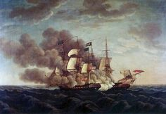 Old Ironsides versus the Guerriere