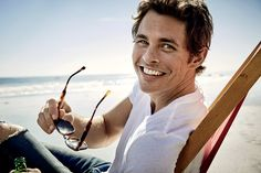 """""""Westworld"""" star James Marsden covers the June 2018 issue of Men's Health magazine photographed by Art Streiber. On """"Westworld"""": """"It makes Celebrity Dads, Celebrity Crush, Celebrity Photos, Cover Male, Cover Guy, James Marsden, Actor James, The Fashionisto, Hot Men"""