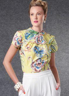 V1809   Misses' Tops   Vogue Patterns