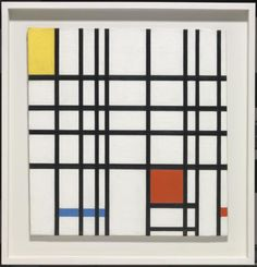 Dutch painter Piet Mondrian has been inspiring designers for many years with his later paintings from his De Stijl genre and it doesn't seem to be slowing down. Piet Mondrian Artwork, Mondrian Kunst, Pablo Picasso, Bauhaus, International Typographic Style, International Style, Abstract Art For Kids, Tate Gallery, Art Terms