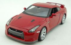 1:24 Nissan 2009 GTR R35 Alloy Diecast car Model Collection Toy Vehicle Red 2194 #Maisto #Nissan