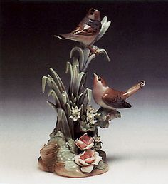 LLADRO - COUPLE OF BIRDS
