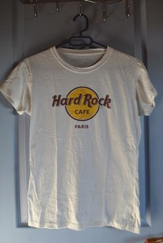 6b33c5041540 T-shirt hard rock café Paris hard rock cafe ! Taille 38   10