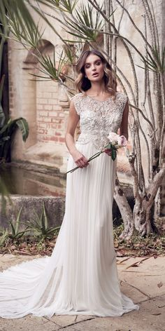 Anna Campbell 2019 Wedding Dresses - Wanderlust Bridal Collection - Belle The Magazine Wedding Gown A Line, Sweetheart Wedding Dress, Wedding Dress Trends, Gorgeous Wedding Dress, Wedding Dress Styles, Bridal Dresses, Wedding Gowns, Wedding Ideas, Wedding Outfits