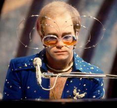 Elton Elton John Glasses, Elton John Costume, Bernie Taupin, Goodbye Yellow Brick Road, Concept Album, Music Love, My Music, My Favorite Music, Captain Fantastic