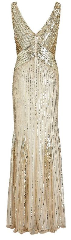 1920's Sequin dress from John Lewis.