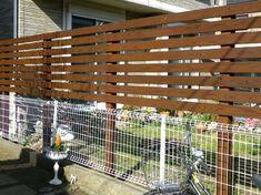 サーモウッドでお庭の目隠しフェンス|グリーンケア|お庭のデザイン&リフォーム