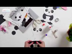 "Use this panda craft template to create a panda craft inspired by the picture book, ""Please Mr. Panda"" created by Steve Antony. Manners and Doughnuts."