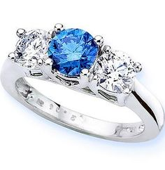 blue diamond ring... someday my prince will come
