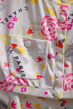 Chanel Jacke, Detail