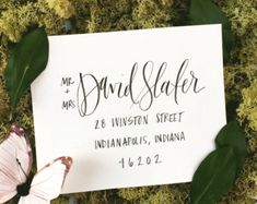 5 Tips For DIY Wedding Envelope Addressing 2 Free Downloadable