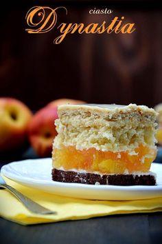 Ciasto Dynastia Polish Cake Recipe, Polish Recipes, Polish Food, Food Cakes, Bon Appetit, Coco, Cake Recipes, Cheesecake, Food And Drink
