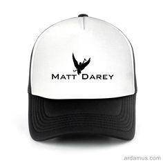 Matt Darey Trucker Hat for men or women. Available color black, red, pink, green. Shop more at ARDAMUS.COM #djtruckerhat #djcap #djsnapback #djhat