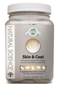 Natural Science Skin & Coat Supplement 60Ct