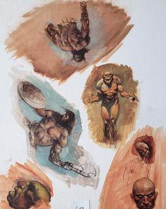 STOLEN ART Comic Art John Buscema, Bruce Timm, Art Archive, Silver Surfer, Art Store, Art Auction, Types Of Art, Comic Books Art, Art For Sale