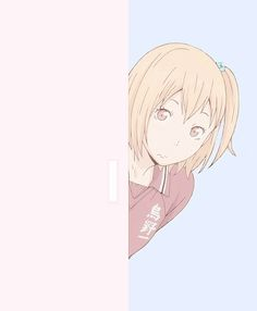 Yachi from Haikyuu, she's adorable, refreshing and pretty funny!!