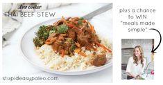 Slow Cooker Thai Beef Stew