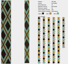 15 around tubular bead crochet rope pattern Crochet Bracelet Pattern, Crochet Beaded Bracelets, Bead Crochet Patterns, Seed Bead Patterns, Beaded Jewelry Patterns, Beading Patterns, Spiral Crochet, Bead Crochet Rope, Tear