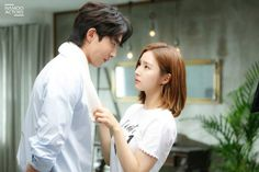 Nam Joo Hyuk and Shin Se Kyung transform into adorable couple behind the scenes of The Bride of Habaek