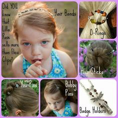 Lilla Rose has more products than just the amazing flexi clip. We also carry hair bands, hair sticks, badge holders, you-pins, bobby pins, and flexi-ohs. www.lillarose.biz/DawnMorrison