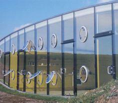 Malator House (1998) by Future Systems Jan Kaplicky and Amanda Levete