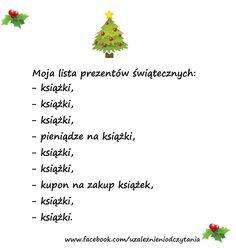 Moja lista prezentów jest gotowa.