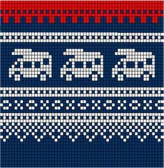 Bilderesultat for knitting chart kuvio Fair Isle Knitting Patterns, Fair Isle Pattern, Knitting Charts, Loom Patterns, Knitting Stitches, Knitting Designs, Free Knitting, Baby Knitting, Cross Stitch Patterns