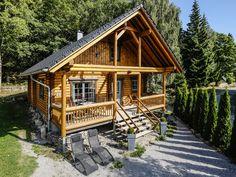 """BLOCKHAUS """"AM BROCKEN"""" 4+4 Personen, mit Sauna und Kaminofen, 110 qm, ab 79 Euro"""