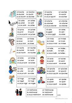 Kennenlernen französisch konjugieren