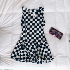 Checkered Dress Checker print dress from Forever 21. Size small. New with tags. Make an offer! ✨ Forever 21 Dresses