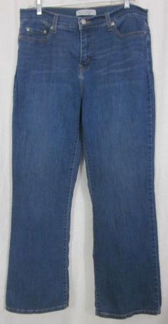 Levi's 512 Jeans Size 14 Med 33x31 Perfectly Slimming Free Shipping #Levis #BootCut