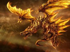 """Which Historical Dragon Are You? A man says """"Dragons don't exist"""", and I say """"Why? He replies """"I don't believe what isn't seen""""."""" says a dragon. Gold Dragon Wallpaper, S4 Wallpaper, Wallpaper Pictures, Wings Wallpaper, Mosaic Pictures, Screen Wallpaper, Mobile Wallpaper, Types Of Dragons, Cool Dragons"""