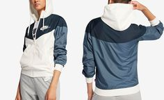 Nike Sportswear Windrunner Hooded Jacket - Jackets - Women - Macy's #hellofashion