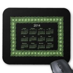 2014 Celtic Calendar Mouse Pad Design from Calendars by Janz
