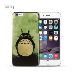 For coque iPhone 5S case 4 4S 5 5C 6 6S Plus Cute Totoro PC cover for fundas iPhone 6S case new arrivals for capa iPhone 4S case