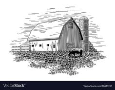 Horse Stalls, Horse Barns, Horses, Cow Vector, Meat Shop, Equestrian Problems, Barrel Horse, Horse Trailers, Pattern Drawing