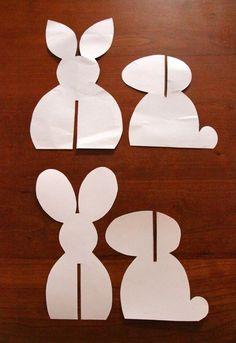 Deko hoch Drei: Bunte Hasen - Lastminute Diy Decoration high three: colorful rabbits - last minute DIY Felt Crafts, Easter Crafts, Diy And Crafts, Easter Activities, Craft Activities, Happy Easter, Easter Bunny, Diy For Kids, Crafts For Kids