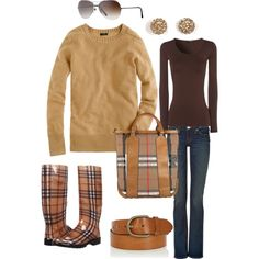 """""""Burberry"""" by emalbe on Polyvore"""