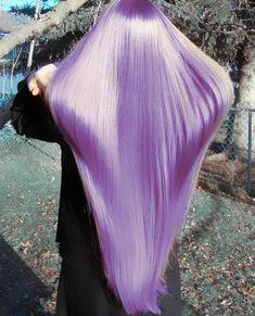 LOVE the purple hair.