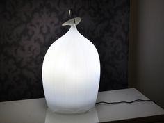 LED polyethylene table lamp SMOON CAGE SENSITIVE Smoon Collection by Beau & Bien | design Sylvie Maréchal, Lode Soetewey